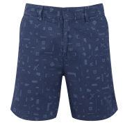 Soulland Men's Craddock Shorts - Navy
