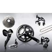 Shimano 105 5800 11 Speed Groupset - Silver - 52/36