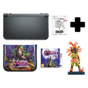 New Nintendo 3DS XL Metallic Black + Majoras Mask 3D Standard Edition