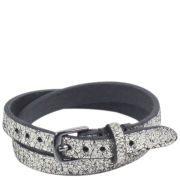 Markberg Kira Metallic Leather Bracelet - Metallic
