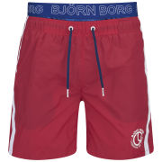 Bjorn Borg Men's Loose Telescope Elastic Shorts - True Red