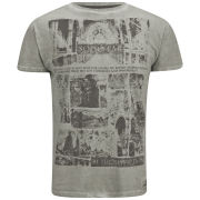 Soul Star Men's Graves T-Shirt - Stone