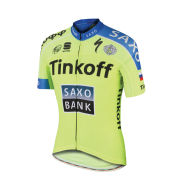 Tinkoff-Saxo Kid Short Sleeve Jersey - Yellow