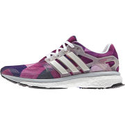 adidas Women's Energy Boost Running Shoes - White/Black