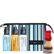 men-u DB Premier Red Shave/Facial Kit (5 Products)