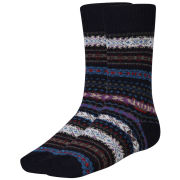 Barbour Men's Boyd Socks- Navy Mix
