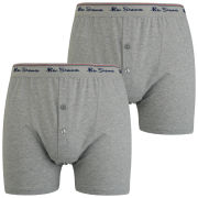 Ben Sherman Men's 2 Pack Boxer - Grey