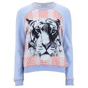 Emma Cook Women's Tiger Sweatshirt - Blue