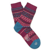 Paul Smith Accessories Women's Fairisle Socks - Pink