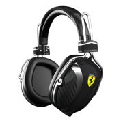 Ferrari P200 Scuderia Noise Cancelling Headphones by Logic3 - Black