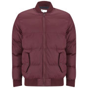 55 Soul Men's Lynx Jacket - Burgundy
