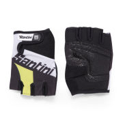 Santini Dragon Gloves - Yellow