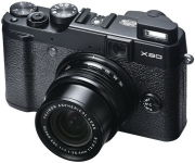Fujifilm X20 Compact Digital Camera (HD 1080p, 12MP, 4x Optical, 2.8 Inch LCD) - Black