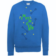 Football Manager Invincible Planning Men's Sweatshirt - Royal Blue