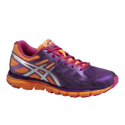 Asics Women's Gel Pulse 6 Asics Women's Gel Zaraca 3 Natural Running Shoes - Purple/Silver/Nectarine