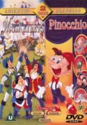 THREE MUSKETEERS, THE / PINOCCHIO  DVD ANIMATED