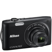 Nikon Coolpix S3200 Digital Camera (16MP  6x Optical Zoom  2.7 Inch LCD)  Black  Grade A Refurb