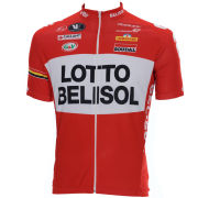 Lotto Belisol Team Full Zipp SS Jersey - 2014