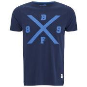 Boxfresh Men's Lakshmie Bold X Graphic T-Shirt - Navy