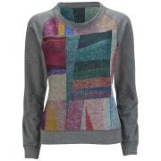 Paul by Paul Smith Women's Reversible Print Sweatshirt - Grey/Multi