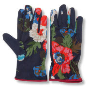 Joules Gardening Gloves - Navy Floral