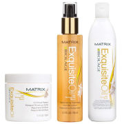 Matrix Biolage Exquisite Oil Shampoo, Masque and Treatment
