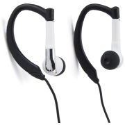 iHip Active Sports Earphones with Mic and Remote - White