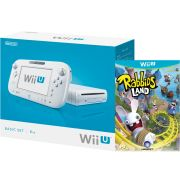 Wii U Console: 8GB Basic Pack - White (Includes Rabbids Land)