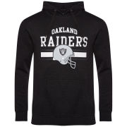 Majestic Men's Raiders Lakely Hooded Sweatshirt - Charcoal