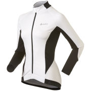 Odlo Women's Cover Long Sleeve Full Zip Jacket - White/Black