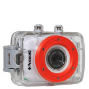 Polaroid XS7 HD Action Camera with Touchscreen, Mounting Kit, and 8GB Transcend Micro SDHC Card and Adaptor