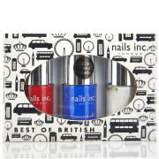 nails inc. Jubilee Collection - Best Of British (3 Products)