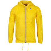 K - Way Men's Claude Classic Full Zip Jacket - Yellow