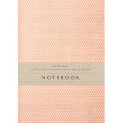 Katie Leamon Red Polka Dot Notebook