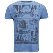 Soul Star Men's Graves T-Shirt - Blue