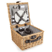 Coast & Country - 2 Person Willow Hamper Basket
