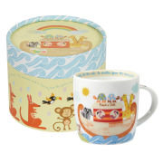 Little Rhymes Noah's Ark Spice Mug In Hatbox Gift Box (284ml) - Multi