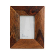 Nkuku Sheesham Brown Wood Frame - 5x7 Inches
