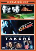 Takers (2010)/ Crank/ The Fast And The Furious