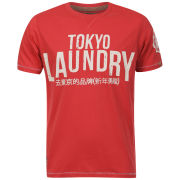 Tokyo Laundry Men's Classic Entry T-Shirt - Deep Coral