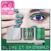 nails inc. Bling it On Emerald