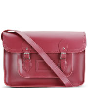 Cambridge Satchel Company 15 Inch Season Brogued Leather Satchel - Chianti