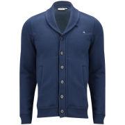 J.Lindeberg Men's Jessy Soft Button Up Jacket - Dark Blue