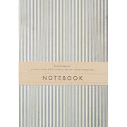 Katie Leamon Navy Stripe Notebook