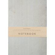 Katie Leamon Navy Stripe Notebook