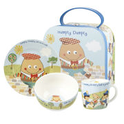 Little Rhymes Humpty Dumpty 3 Piece Breakfast Set Gift Box - Multi