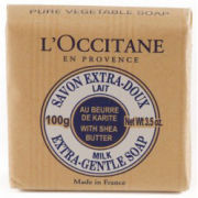 L'Occitane Shea Butter Milk Extra Gentle Soap 100g