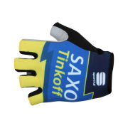 Saxo Bank Tinkoff Bank Team Race Mitts - 2013