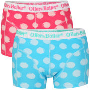 Oiler & Boiler Men's 2-Pack Boxer Shorts - Polka Dot