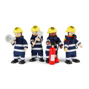 Tidlo Small World John Crane Firefighters Set